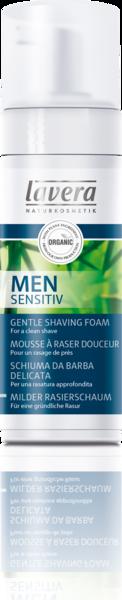 Lavera Jemná pěna na holení Sensitive s aloe vera a bambusem BIO (150 ml)