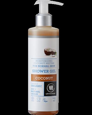 Urtekram Hydratační sprchový gel s kokosovým nektarem BIO (245 ml)