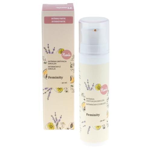 Navia Intimní mycí emulze Feminity BIO (30 ml) - respektuje ph intimních partií