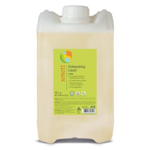 Sonett Prostředek na nádobí s citrónem (10 l) - vhodný i pro citlivou pokožku