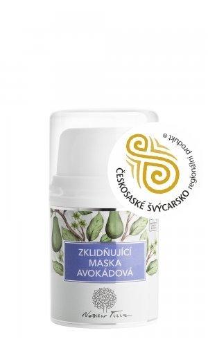 Nobilis Tilia Zklidňující avokádová maska (50 ml) - zrelaxuje a vyživí bioaktivními látkami