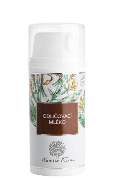 Nobilis Tilia Odličovací pleťové mléko (100 ml) - s mandlovým a pupalkovým olejem