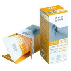 Eco Cosmetics Opalovací krém SPF 50+ BIO (75 ml) - s lehce tónovacím účinkem