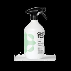 OnlyEco Čistič skleněných povrchů a zrcadel (500 ml) - s olejem z citronové kůry