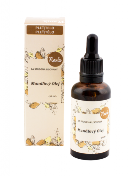 Navia Mandlový olej (50 ml) - za studena lisovaný