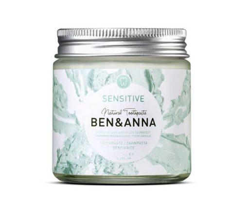 Ben & Anna Zubní pasta pro citlivé zuby Sensitive (100 ml)