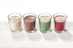 Stuwa Svíčka ve skle přírodní (65 g) (1 ks) - vanilka - s čistě přírodní vůní