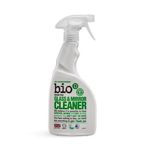 Bio-D Čistič na sklo a zrcadla (500 ml) - pro dokonale čistá okna a zrcadla