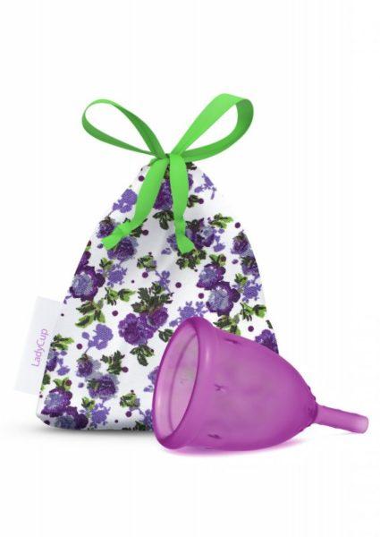 LadyCup Menstruační kalíšek - letní švestka - malý (S)