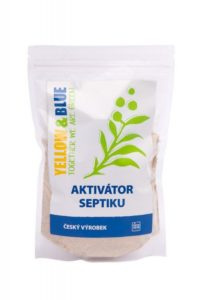 Yellow&Blue Aktivátor septiku (500 g) - pro přirozenou biologickou rovnováhu
