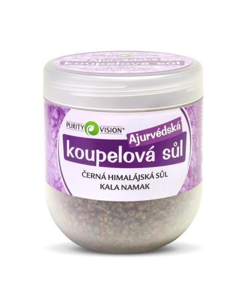Purity Vision Ajurvédská koupelová sůl (1000 g) - k uvolnění svalů a kloubů