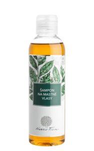 Nobilis Tilia Šampon na mastné vlasy (200 ml) - se zeleným čajem