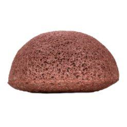 Kongy Konjaková houbička - růžový jíl - pro suchou a citlivou pleť