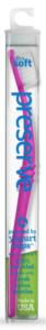 Preserve Zubní kartáček (ultra soft) - fialový - z recyklovaných kelímků od jogurtů