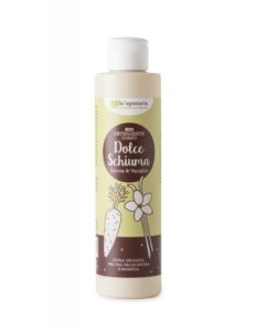 laSaponaria Jemný čisticí sprchový gel s mrkví a vanilkou BIO (200 ml)