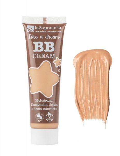 """laSaponaria BB krém """"Jako sen"""" - pískový (30 ml) - lehké krytí s matným finišem"""