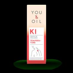You & Oil KI Bioaktivní směs - Horečka (5 ml) - pomáhá tlumit horečku