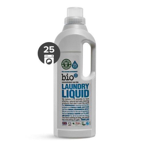 Bio-D Tekutý prací gel bez vůně (1 l) - vhodný i pro velmi jemné materiály