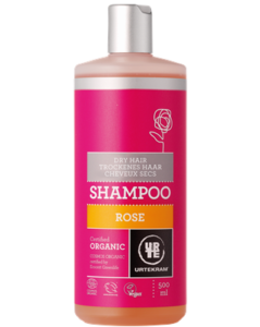 Urtekram Růžový šampon pro suché vlasy BIO (500 ml) - krásně hydratuje