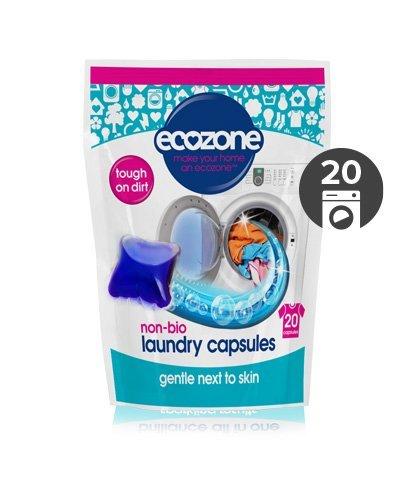Ecozone Univerzální tablety na praní bez enzymů (20 ks) - extra účinné na skvrny a špínu