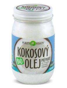 Purity Vision Kokosový olej panenský BIO (420 ml) - za studena lisovaný
