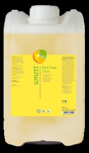 Sonett Tekuté mýdlo - citrus BIO (10 l) - pro vaše ruce