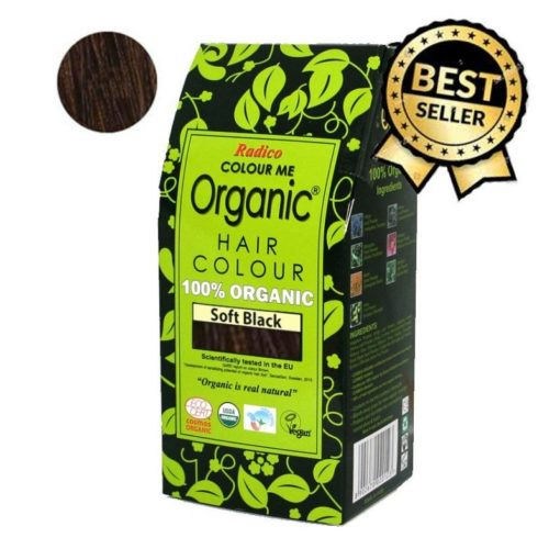 Radico Přírodní barva na vlasy BIO (100 g) - černá - pro zdraví