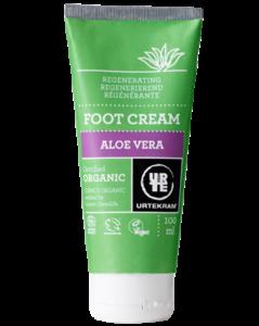 Urtekram Regenerační krém na nohy s aloe vera BIO (100 ml)