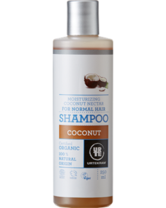 Urtekram Hydratační šampon s kokosovým nektarem BIO (250 ml)