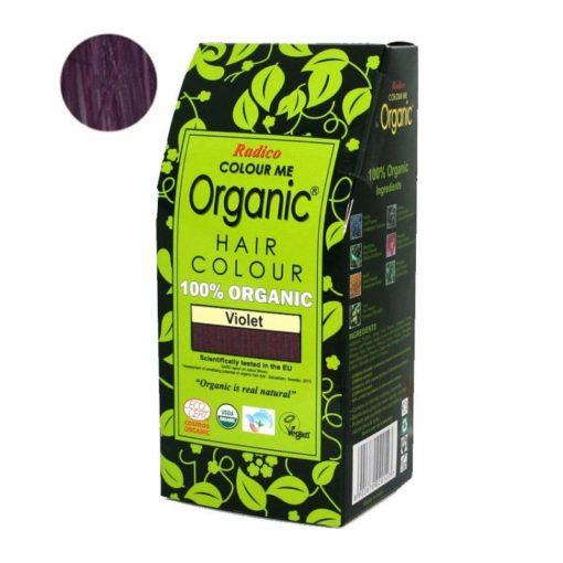 Radico Přírodní barva na vlasy BIO (100 g) - fialová - pro zdraví