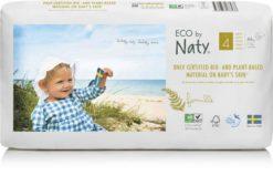 Naty Ekoplenky Maxi 4 (7 - 18 kg) Economy pack (44 ks) - z 55-60 % rozložitelné