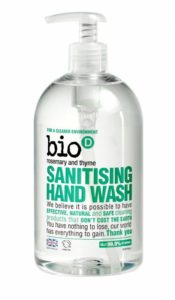 Bio-D Tekuté mýdlo - s vůní rozmarýnu a tymiánu (500 ml)