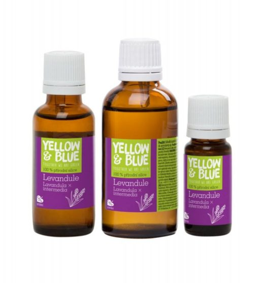 Yellow&Blue Levandulová silice (50 ml) - přírodní éterický olej