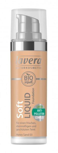 Lavera Lehký tekutý make-up (30 ml) - medová