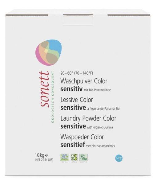 Sonett Prací prášek na barevné prádlo Sensitive BIO (10 kg)