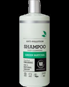 Urtekram Šampon Green Matcha BIO (500 ml) - hloubkově čistící