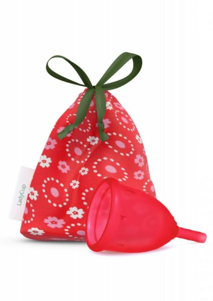 LadyCup Menstruační kalíšek - divoká třešeň - malý (S)
