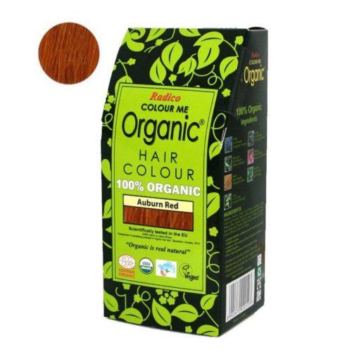 Radico Přírodní barva na vlasy BIO (100 g) - kaštanová - pro zdraví
