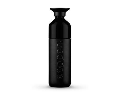 Dopper Nerezová termoska (580 ml) - černá - uzávěr slouží jako kelímek