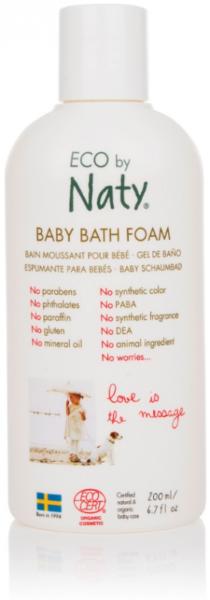 Naty Dětská pěna do koupele BIO  (200 ml) - pro hromadu smíchu a radosti
